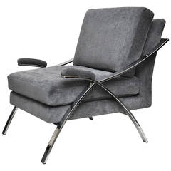 Mid-Century Chrome Chair