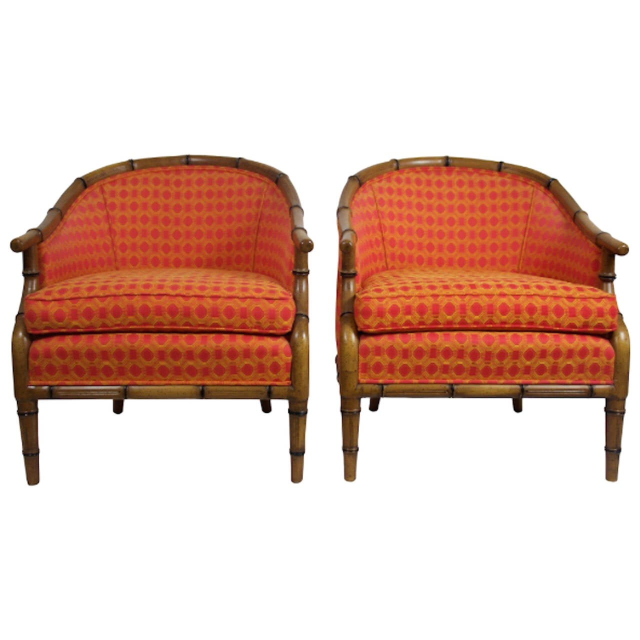 Pair of Faux Bamboo Chairs by Century at 1stdibs : 2823512l from www.1stdibs.com size 1280 x 1280 jpeg 103kB