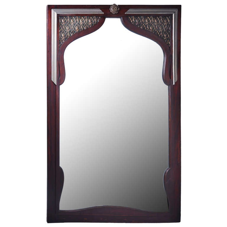 Moroccan Style Mirror At 1stdibs