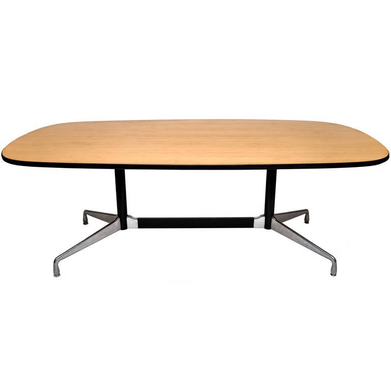 Eames racetrack style conference table by herman miller at - Eames table herman miller ...