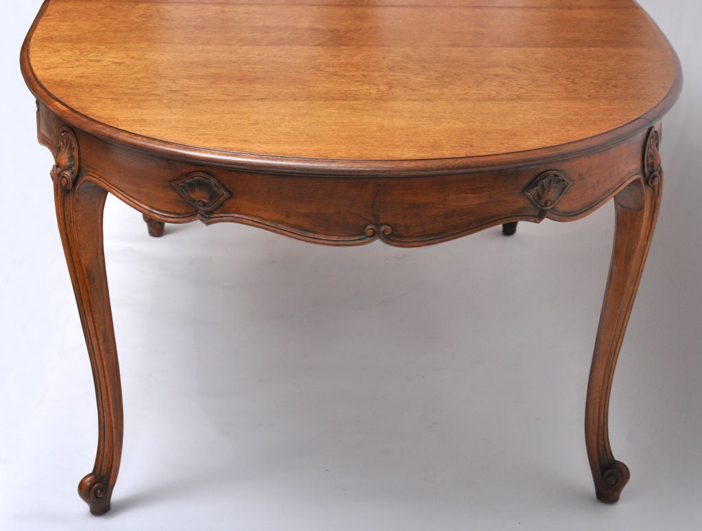 Italian Fruitwood Oval Dining Table With 2 Leaves at 1stdibs : 830212762785933 from 1stdibs.com size 1024 x 775 jpeg 77kB
