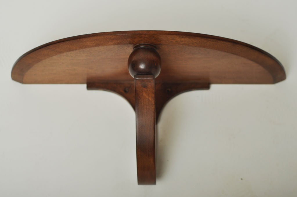DUNBAR DEMILUNE WALL SHELF BY EDWARD WORMLEY At 1stdibs