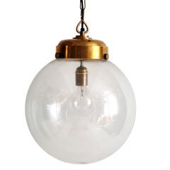 Large Scale Round Globe Hanging Light