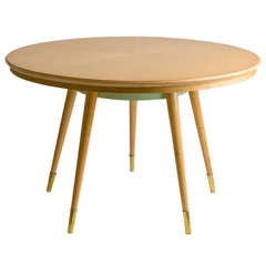 Italian Sycamore Center Table