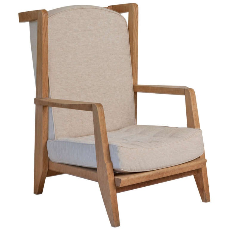 French limed oak arm chair at stdibs
