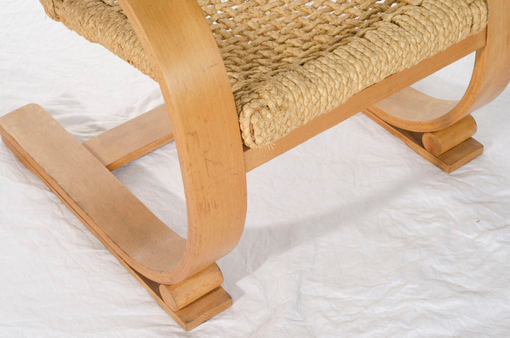 french audoux minet bentwood vibo arm chair at 1stdibs