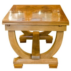 French Art Deco Ruhlmann Style Table