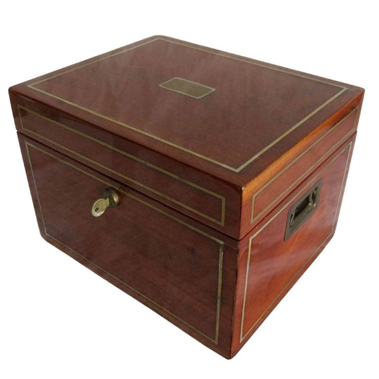 Vintage art deco large benson and hedges cigar humidor at for Furniture accessories