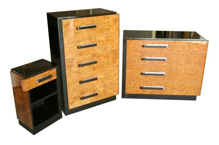 donald deskey for widdicomb american art deco bedroom set