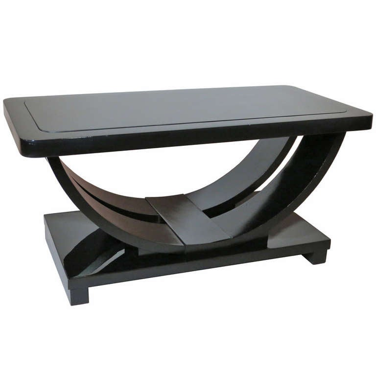 Modernage American Art Deco Coffee Table At 1stdibs