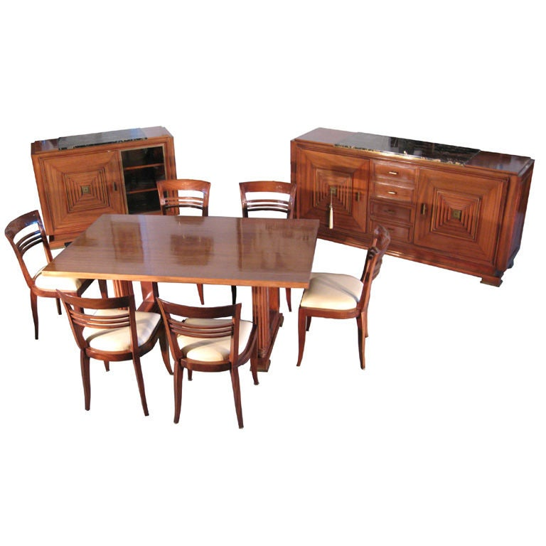 your art deco dining room sets get