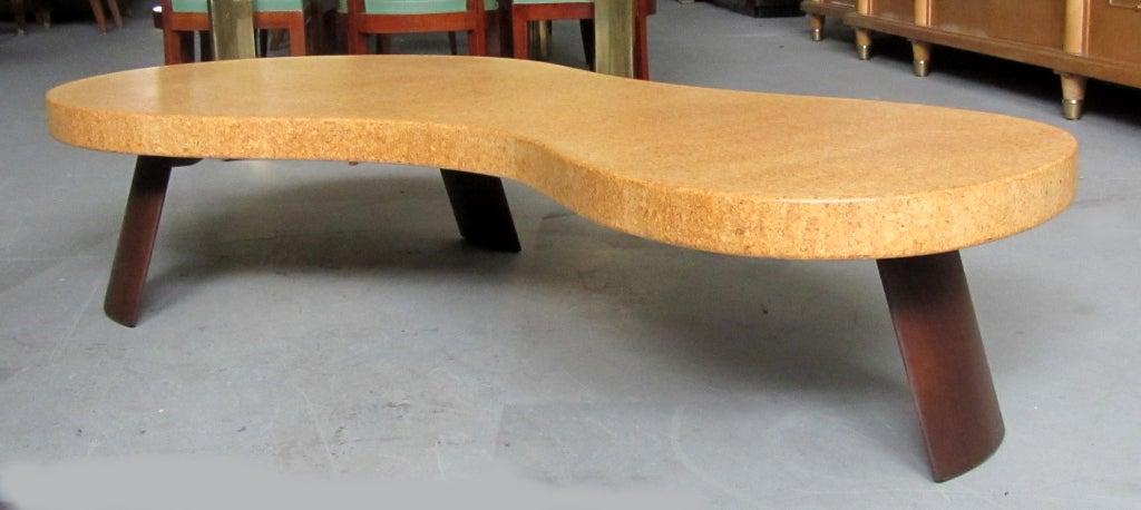 paul frankl american art deco big foot coffee table at 1stdibs. Black Bedroom Furniture Sets. Home Design Ideas