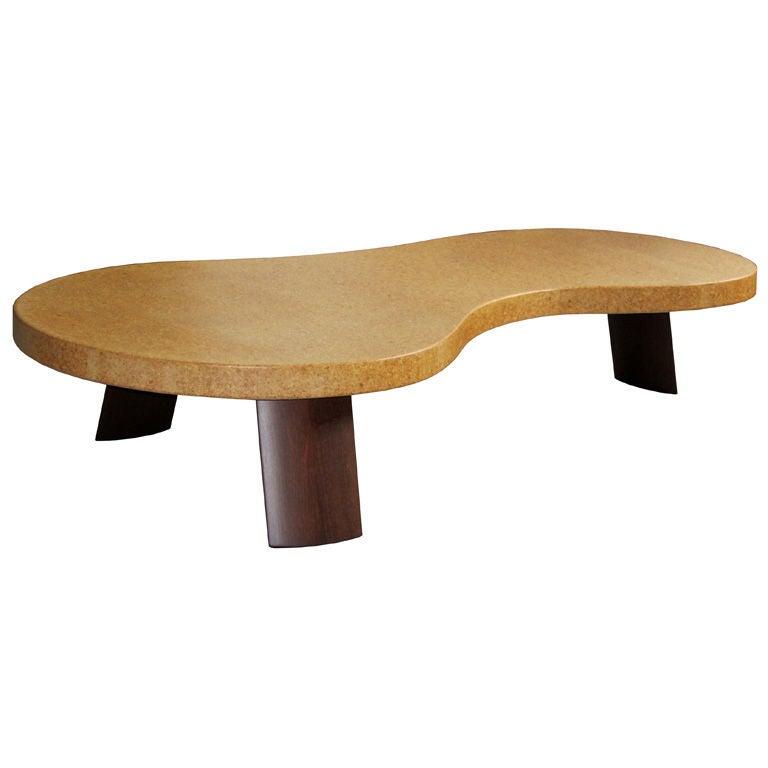 Paul Frankl American Art Deco Big Foot Coffee Table At 1stdibs