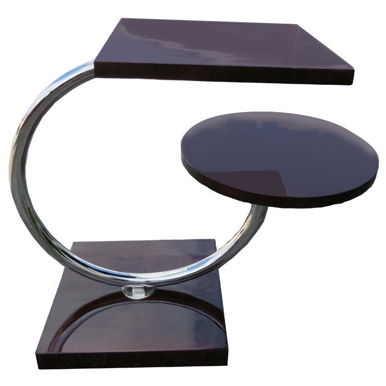 Jean Royere French Art Deco Occasional Table For Maison