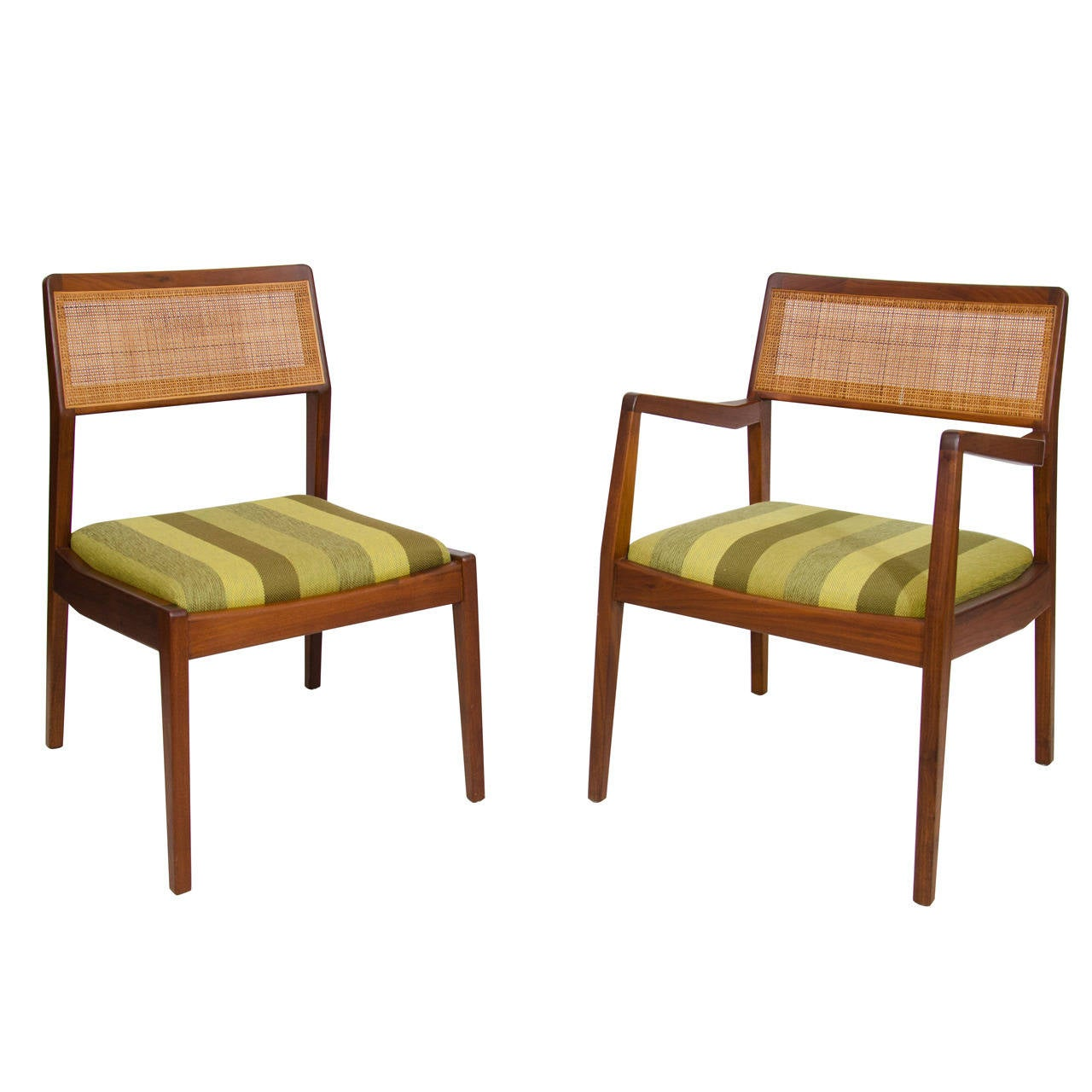 Set of Eight Dining Chairs by Jens Risom