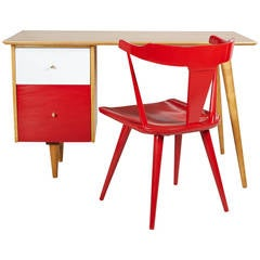 Paul McCobb Desk and Chair