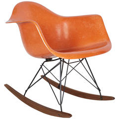 Early Charles Eames Rocking Chair for Herman Miller