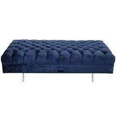 Floating Ludlow Custom Tufted Bench or Coffee Table