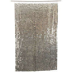Silver Paco Rabanne Space Curtain