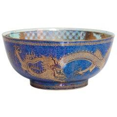 "Wedgwood Fairyland Lustre Bowl ""Celestial Dragons"" Design Daisy Makeig-Jones"
