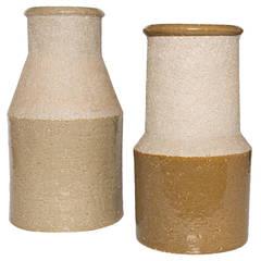 Large studio vases in Chamotte by Hertha Bengtsson for Rorstrand