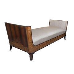 Elegant Swedish Art Deco Day Bed by Erik Chambert