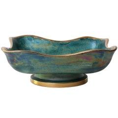 Scandinavian Modern Organic Form Bowl by Josef Ekberg