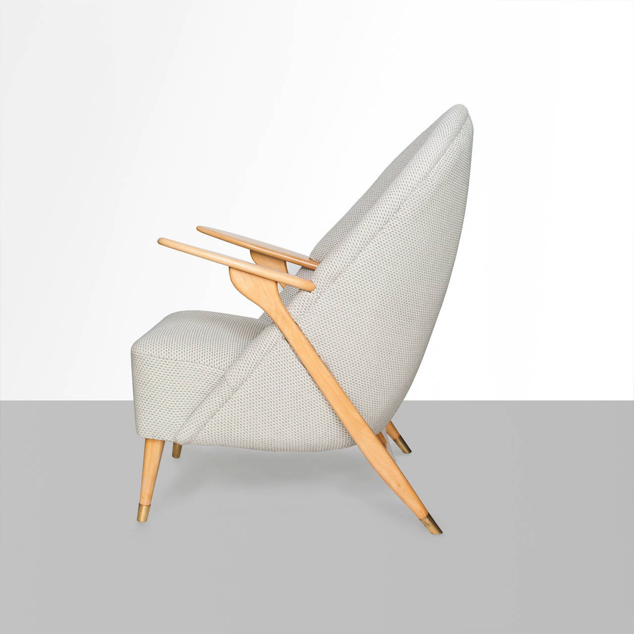 Scandinavian Modern Lounge Chair by Svante Skogh for Säffle Möbelfabrik 3