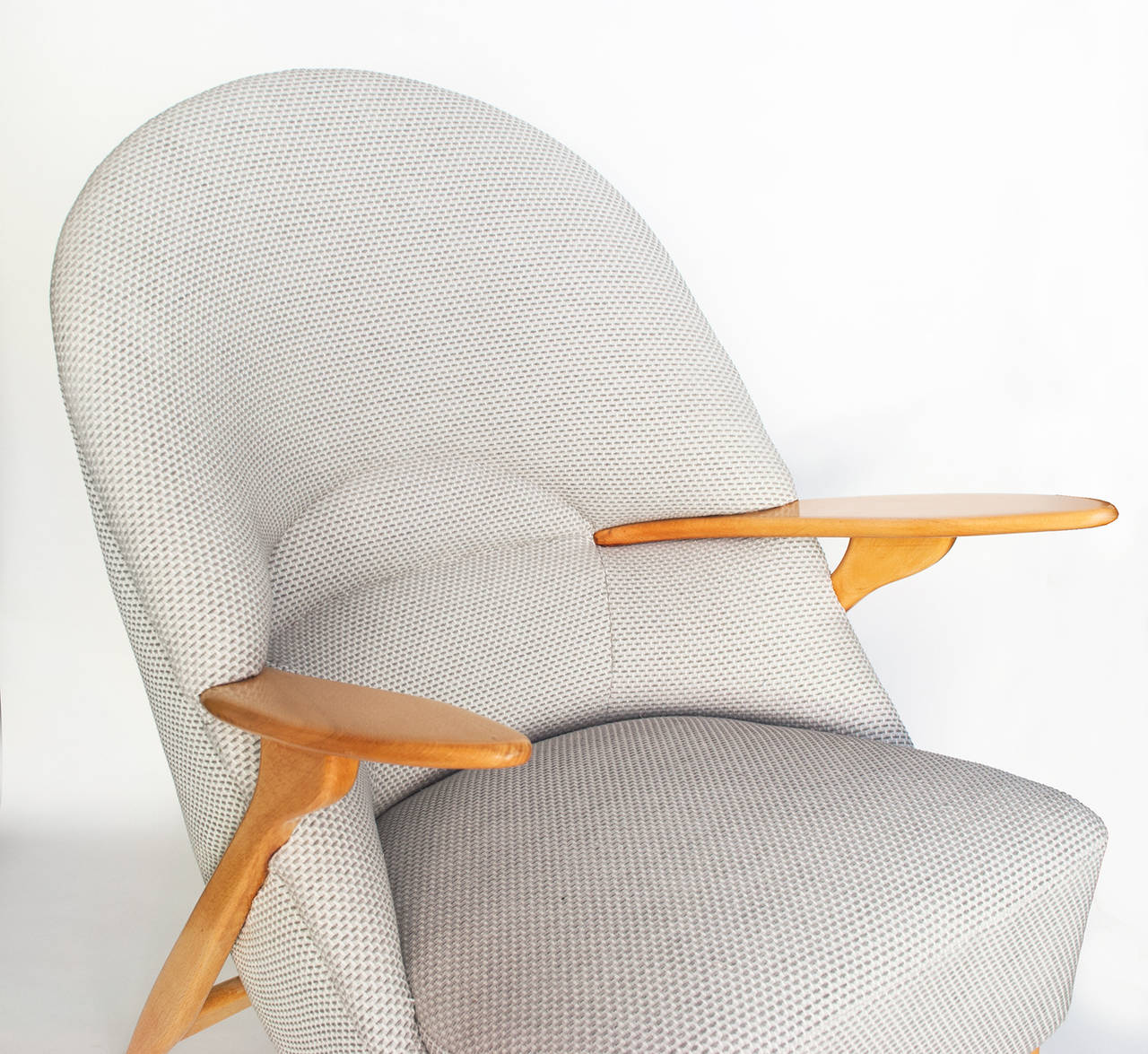 Scandinavian Modern Lounge Chair by Svante Skogh for Säffle Möbelfabrik 5