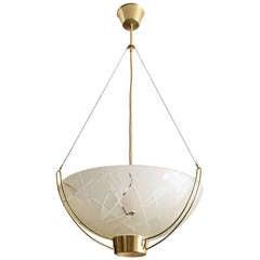 Scandinavian Modern Pendant by Bo Notini for Glossner, Sweden