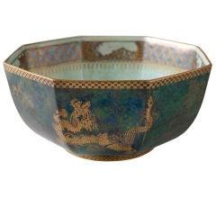 Wedgwood Fairyland Lustre bowl Daisy Makeig-Jones art deco.