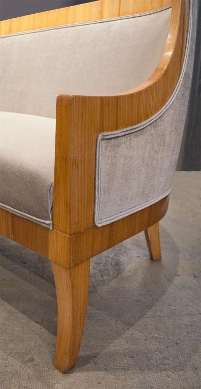 Carl Bergsten Swedish Art Deco sofa from M/S Kungsholm 1928 1