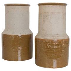 Large Scandinavian Modern Studio Vases by Hertha Bengtsson for Rorstrand
