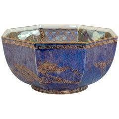"Wedgwood Fairyland Lustre Bowl ""Celestial Dragons"" by Daisy Makeig-Jones"