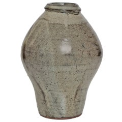 Trevor Corser Ceramic Vase from The Leach Pottery, St. Ives, England