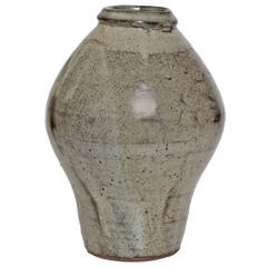 Trevor Corser ceramic vase from The Leach Pottery, St. Ives, England.