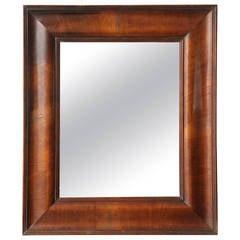 Mid-19th Century Walnut Mirror