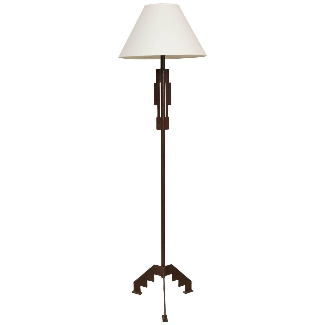 this mid century iron floor lamp is no longer available. Black Bedroom Furniture Sets. Home Design Ideas