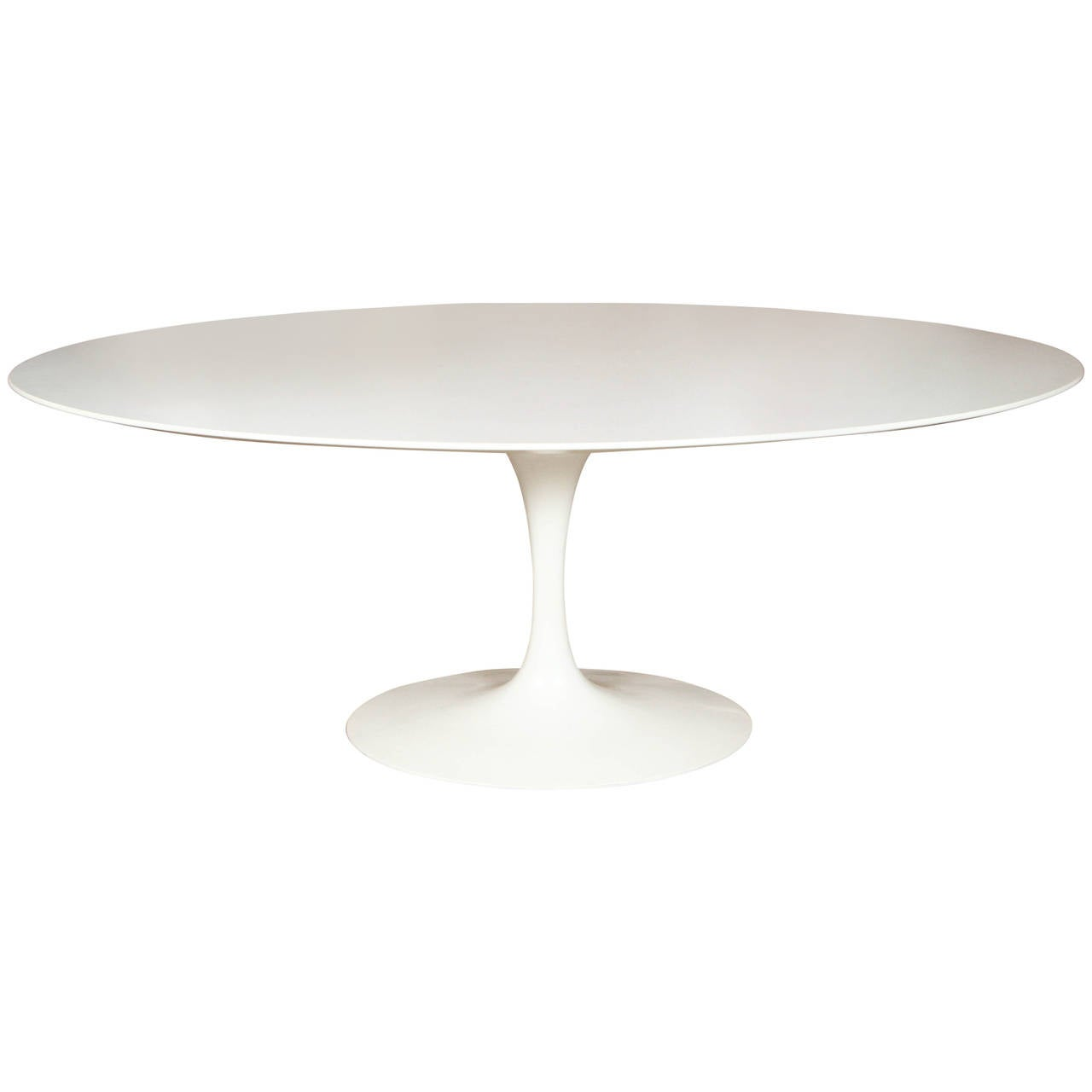 Saarinen oval tulip table at 1stdibs for Tulip dining table