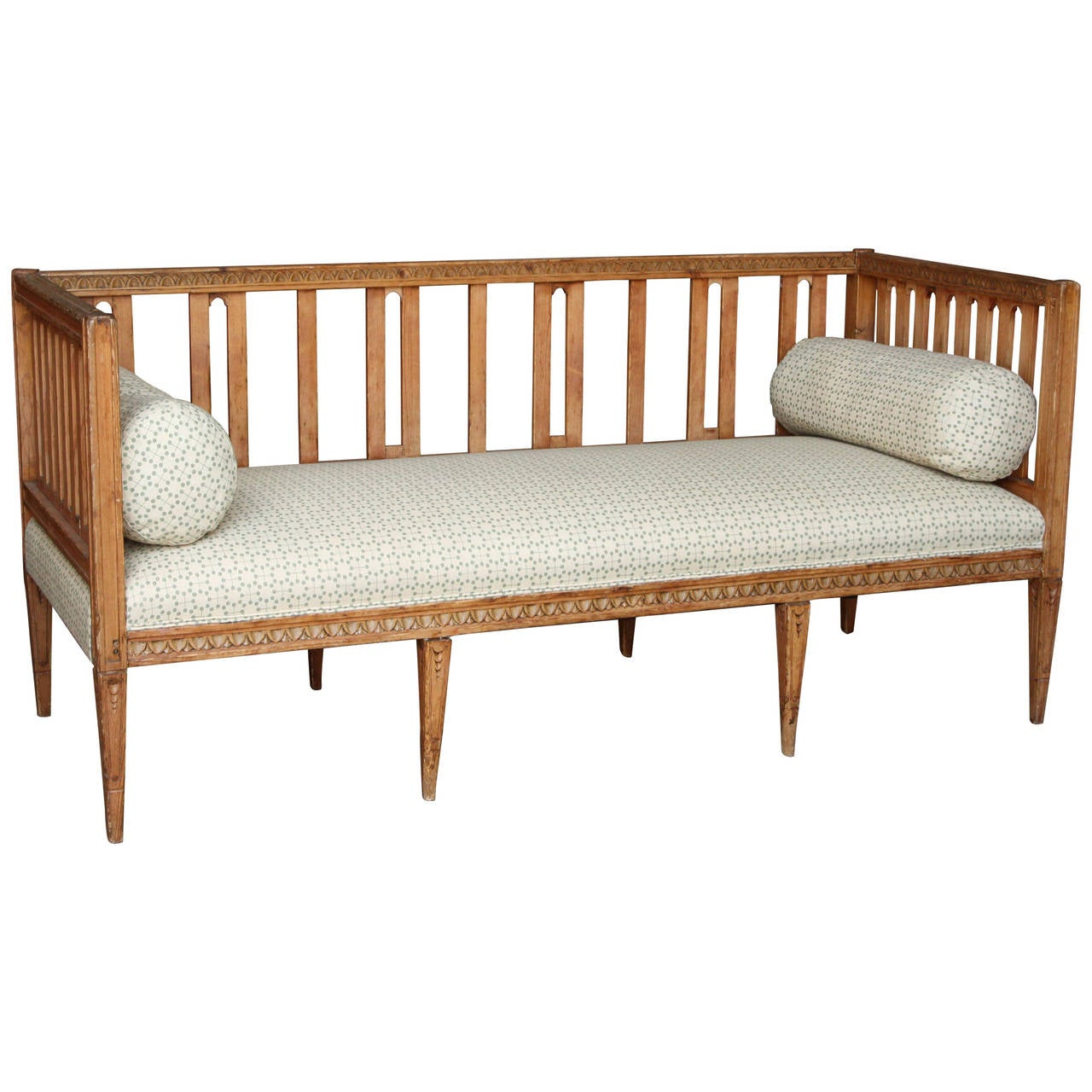 Antique Country Swedish Bench At 1stdibs