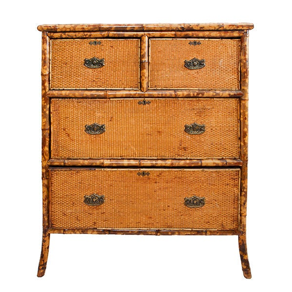 Bamboo Chest of Drawers 1