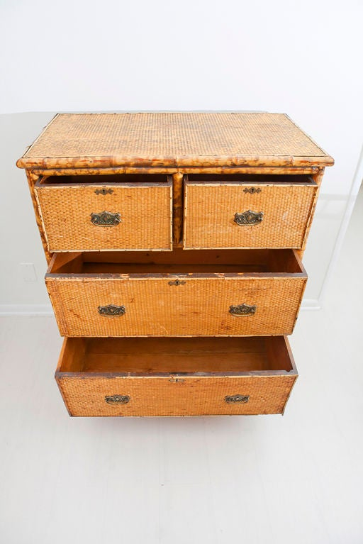 Bamboo Chest of Drawers 9