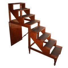 Directoire Mahogany Metamorphosis Library Steps
