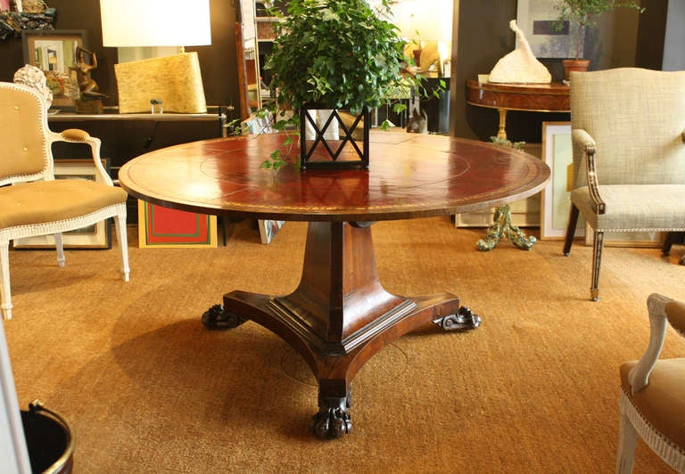 Regency Rosewood Center Table 4