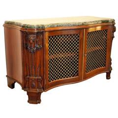 Neoclassical Mahogany Cabinet