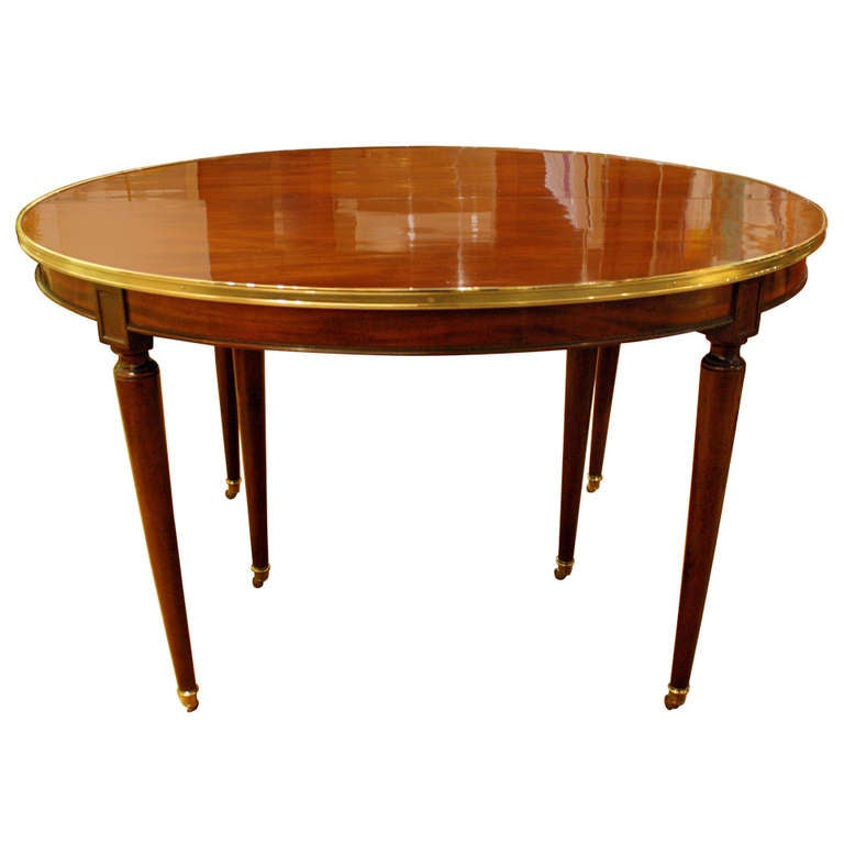 oval table with end extensions directoire brass mounted mahogany oval extension dining 7252