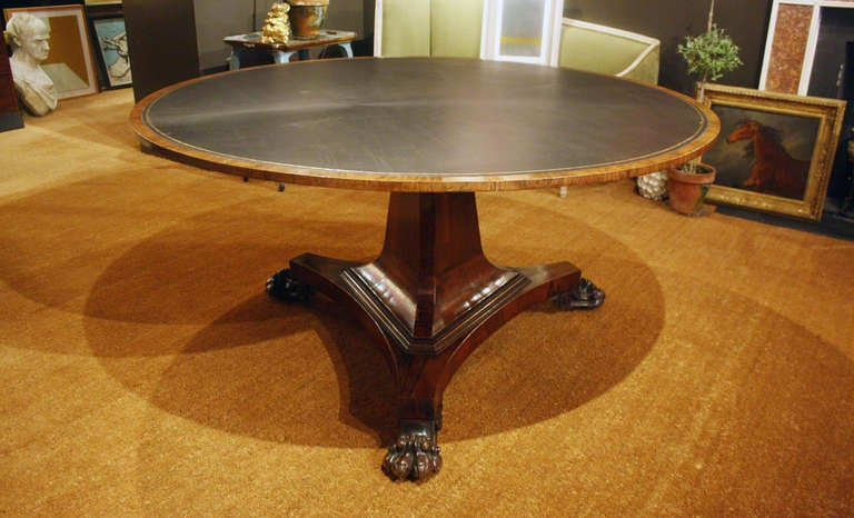 Regency Rosewood Center Table 5