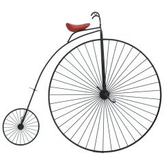 Curtis Jere Penny Farthing  Wall Sculpture