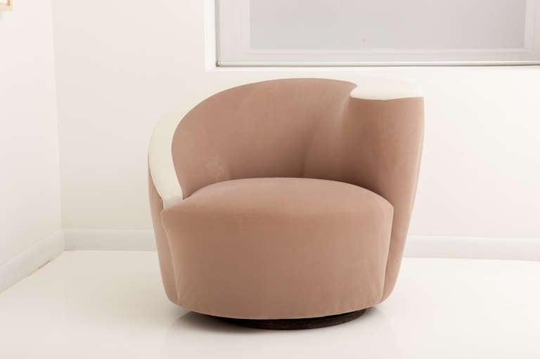 Captivating Pair Of Vladimir Kagan Nautilus Chairs, SALE 3