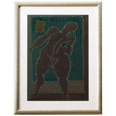 Modernist Nude by William Fredericksen, 1984